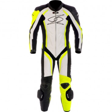 Spyke Blaster III Leather Motorcycle Race Suit for Men