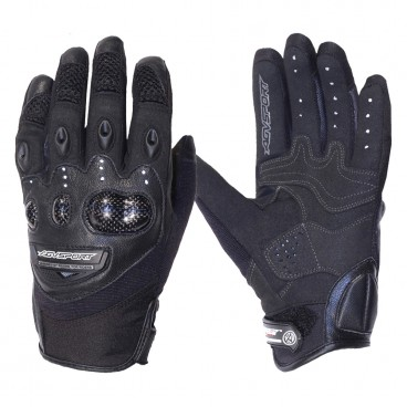 Motorcycle Leather Gloves for Men (AGV Sport Elan)
