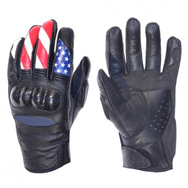 Motorcycle Leather Gloves for Men (AGV Sport Krono)