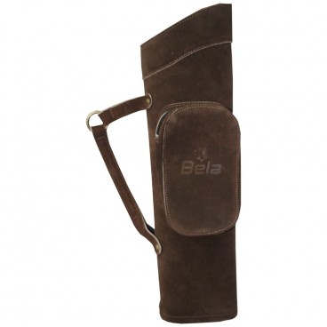 POKI  BROWN SIDE QUIVERS