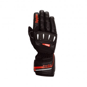 Motorcycle Leather Gloves (Spyke Rally WP Gloves)