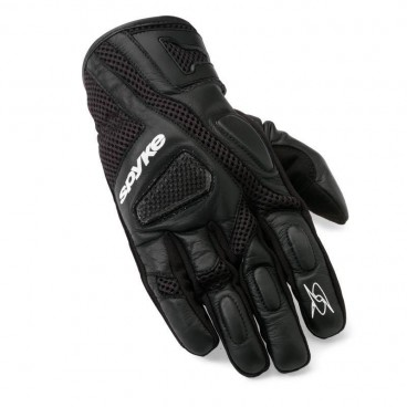 Motorcycle Leather Gloves (SPYKE Sport Short Air Mesh Gloves)