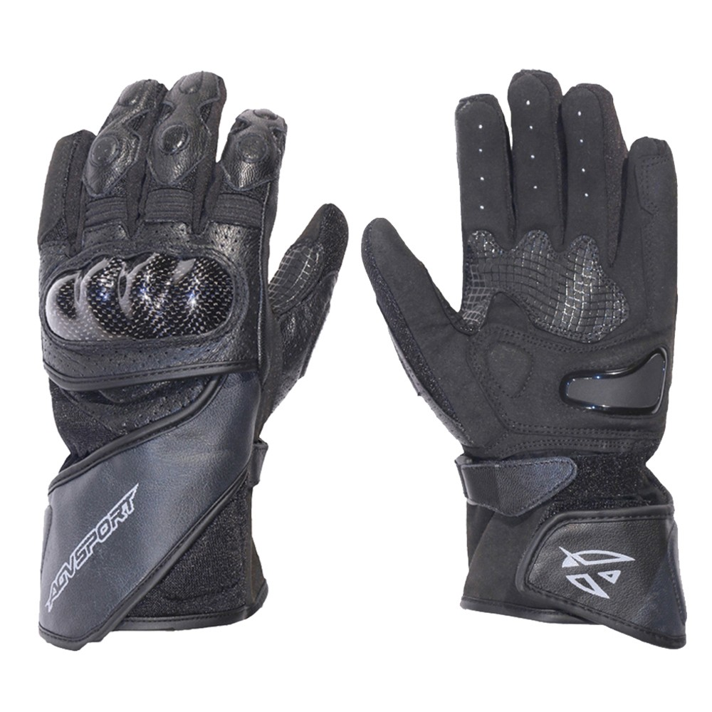 Sport Motorcycle Gloves: AGV Sport Apex Leather Gloves, Apex Motorcycle Leather
