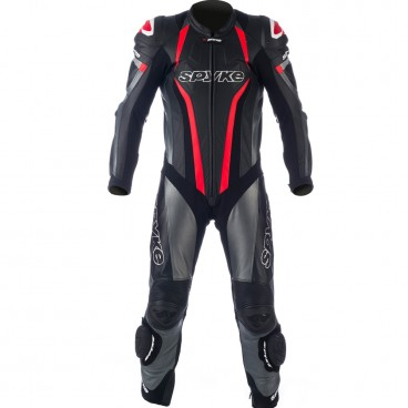 Spyke TOP SPORT MIX KANGAROO Leather Motorcycle Suits for Men