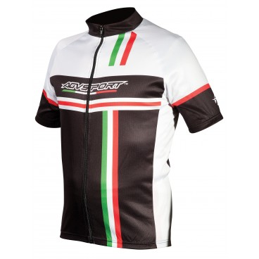 AGV Sport Milano Tri-Color Cycling Jersey