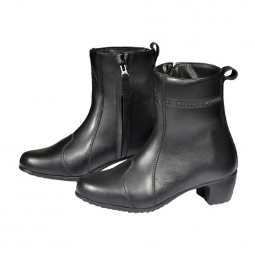 Leather Motorcycle Boots (Ana Ladies Boot BT)