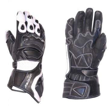 Motorcycle Leather Gloves for Men (AGV Sport Enzio)
