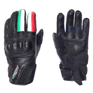 Motorcycle Leather Gloves for Men (AGV Sport Octa)