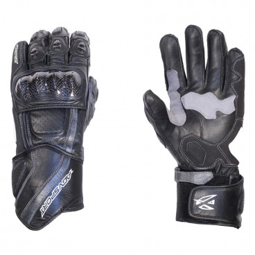Motorcycle Leather Gloves for Men (AGV Sport Rogue)
