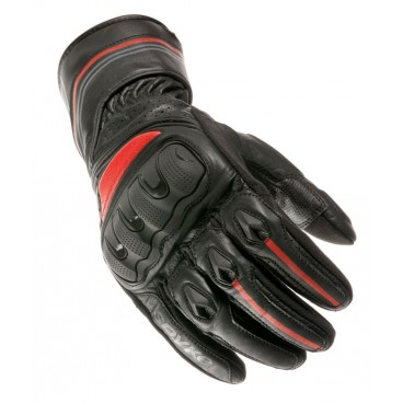 Motorcycle Leather Gloves (SPYKE Racing RS Gloves)