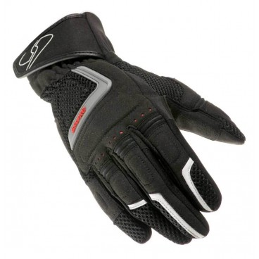 Motorcycle Leather Gloves (SPYKE Sport Air Mesh Gloves)