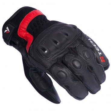 Motorcycle Leather Gloves (R-Tech Vibo)