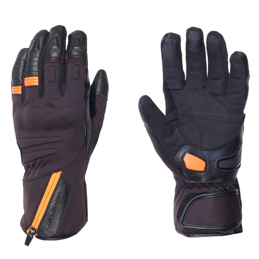 Motorcycle leather gloves waterproof - Motorcycle Leather Gloves For Men Agvsport Megan