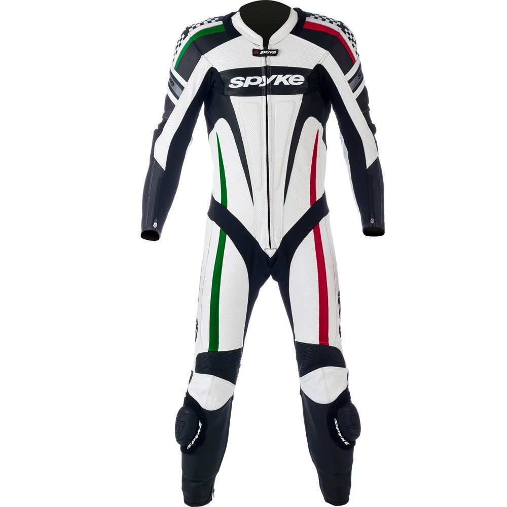 Spyke Rac Motorcycle Kaver Leather Suits Suits rrq6vxn